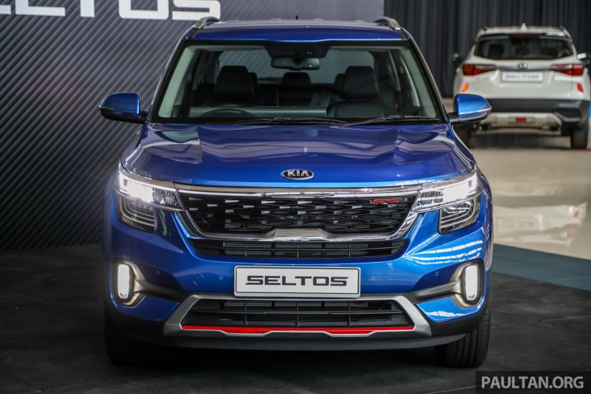 Kia Seltos SUV launched in Malaysia – EX and GT Line, 123 PS/151 Nm 1.6L NA engine, RM116k to RM134k Image #1231184