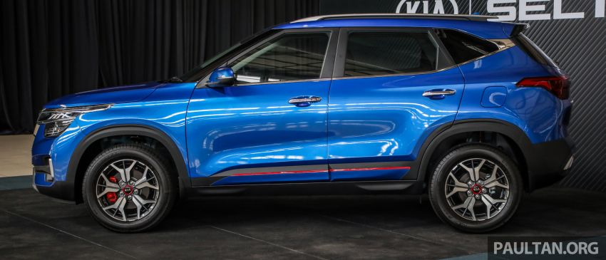 Kia Seltos SUV launched in Malaysia – EX and GT Line, 123 PS/151 Nm 1.6L NA engine, RM116k to RM134k Image #1231186