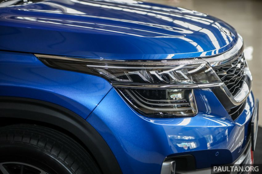 Kia Seltos SUV launched in Malaysia – EX and GT Line, 123 PS/151 Nm 1.6L NA engine, RM116k to RM134k Image #1231189