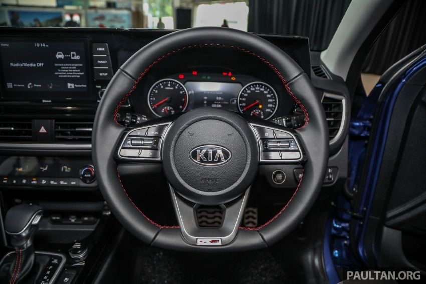 Kia Seltos SUV launched in Malaysia – EX and GT Line, 123 PS/151 Nm 1.6L NA engine, RM116k to RM134k Image #1231222
