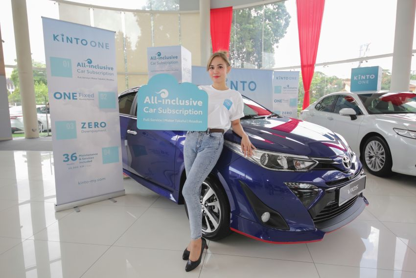 Toyota's Kinto One car-subscription service debuts in Malaysia – prices start from RM1,678 a month for Yaris Image #1235919