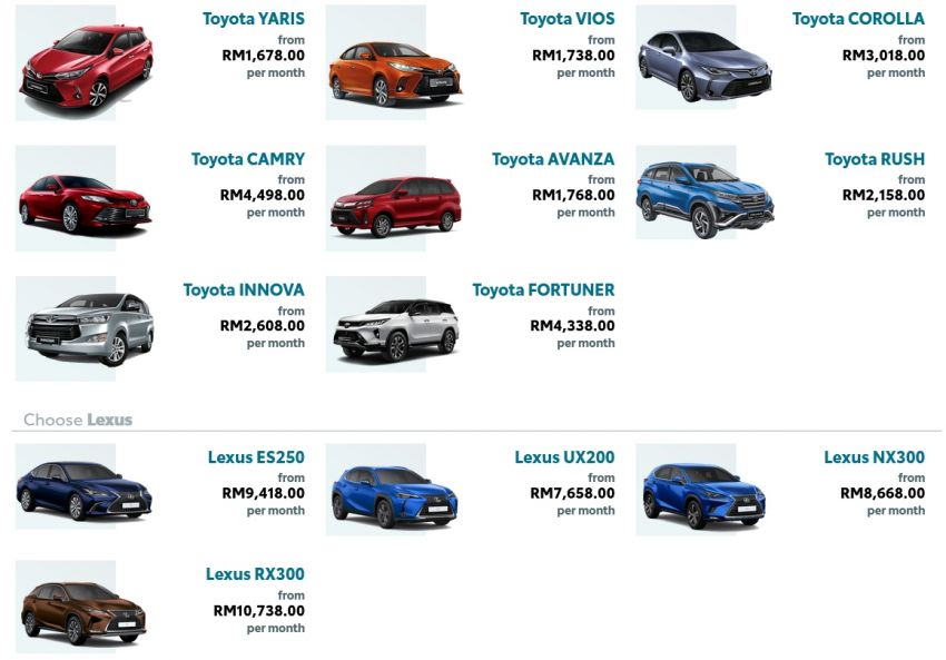 Toyota's Kinto One car-subscription service debuts in Malaysia – prices start from RM1,678 a month for Yaris Image #1235909