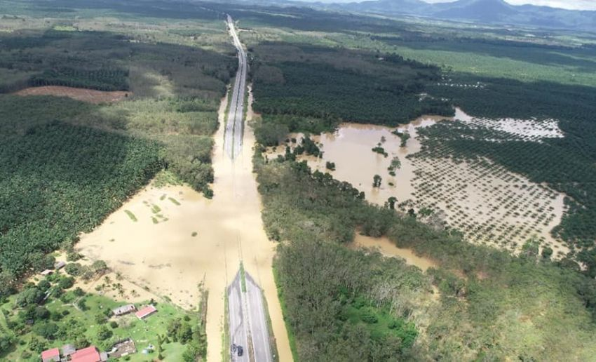 East Coast Highway (LPT1) Temerloh-Lanchang still closed to traffic – alternative route is a detour to N9 Image #1231495