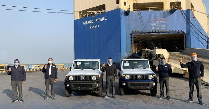 Maruti Suzuki mula eksport Jimny dari kilang India Image #1238369