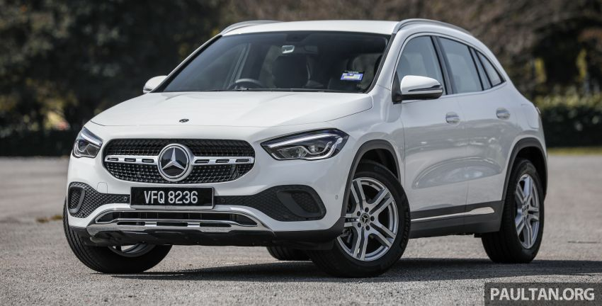 GALLERY: 2021 Mercedes-Benz GLA200 Progressive Line – 1.3 litre turbo with 163 PS; priced at RM244,200 Image #1230500
