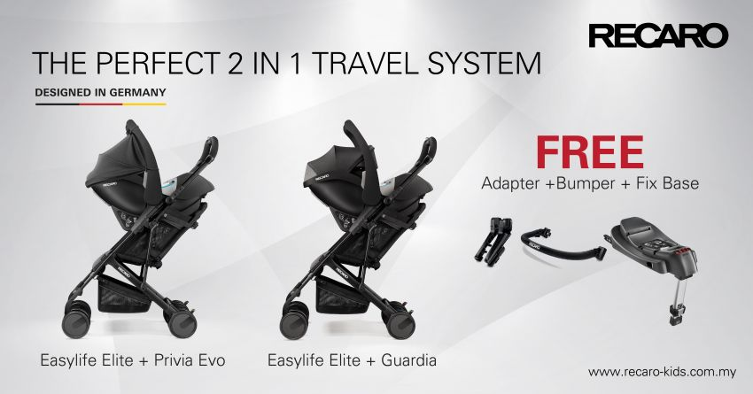 AD: Get the ideal two-in-one stroller and carrier from Recaro Kids, now with free ISOFIX base and more Image #1231453