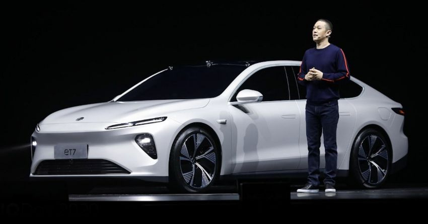 Nio ET7 officially revealed with 653 PS and 150-kWh battery – over 1,000 km EV range; autonomous driving Image #1233262