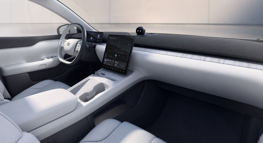 Nio ET7 officially revealed with 653 PS and 150-kWh battery – over 1,000 km EV range; autonomous driving Image #1233278