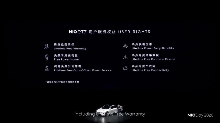 Nio ET7 officially revealed with 653 PS and 150-kWh battery – over 1,000 km EV range; autonomous driving Image #1233289