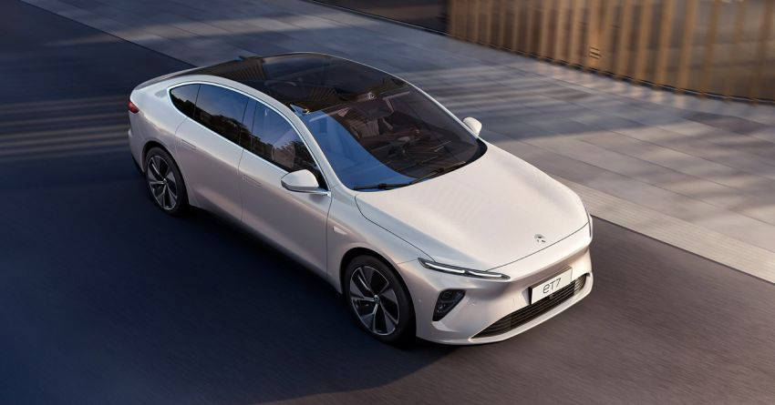 Nio ET7 officially revealed with 653 PS and 150-kWh battery – over 1,000 km EV range; autonomous driving Image #1233265