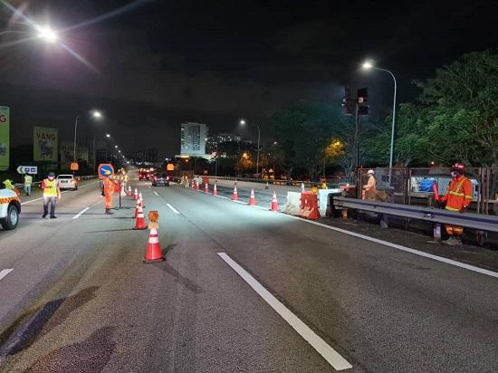 Laluan kontra di KM307-KM309 di Plaza Tol Sg Besi-UPM diaktifkan hingga 2 Feb untuk projek MRT – PLUS Image #1240433