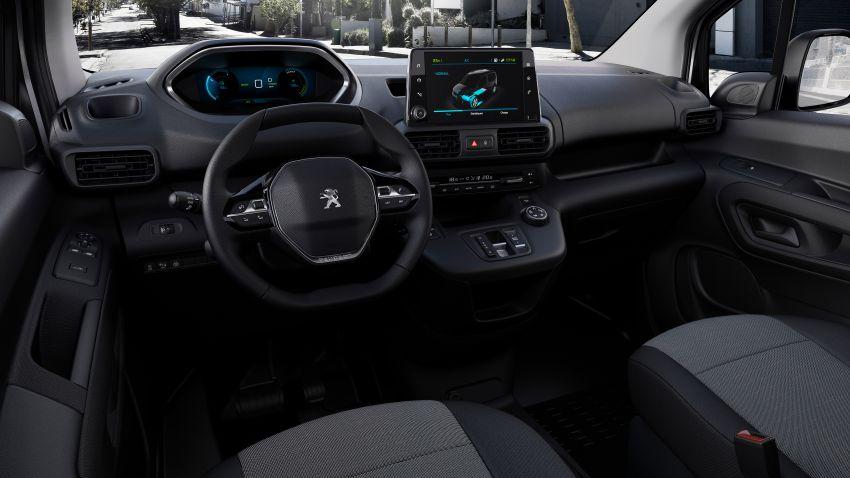 Peugeot e-Partner – all-electric van with 275 km range Image #1239448