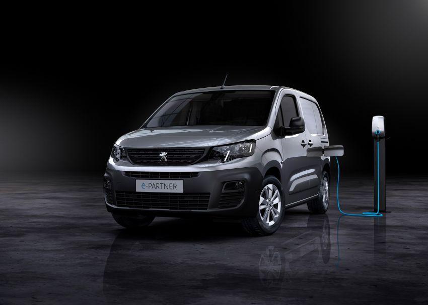 Peugeot e-Partner – all-electric van with 275 km range Image #1239440