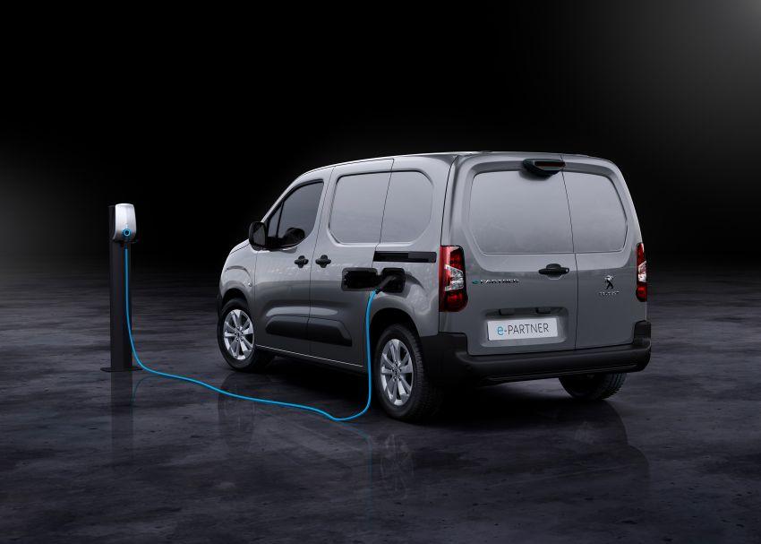 Peugeot e-Partner – all-electric van with 275 km range Image #1239441