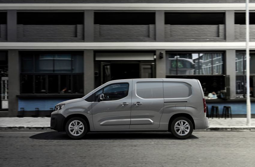 Peugeot e-Partner – all-electric van with 275 km range Image #1239444