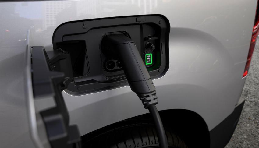 Peugeot e-Partner – all-electric van with 275 km range Image #1239446