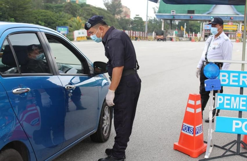 MCO 2.0: Petaling Jaya police close a number of roads Image #1234626