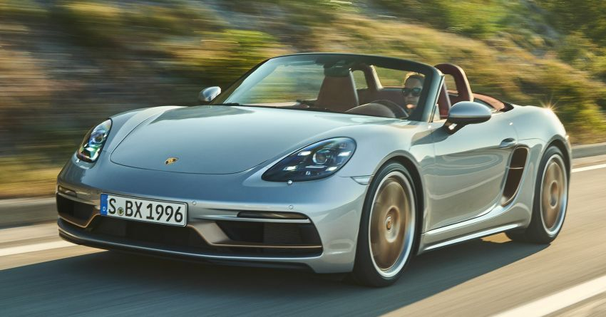 Porsche Boxster 25 Years revealed as tribute model – based on 718 Boxster GTS 4.0, limited to 1,250 units Image #1234269
