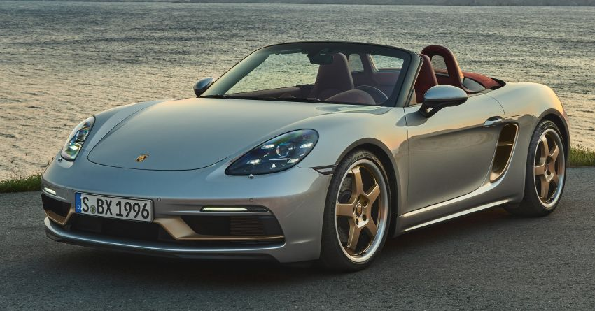 Porsche Boxster 25 Years revealed as tribute model – based on 718 Boxster GTS 4.0, limited to 1,250 units Image #1234271