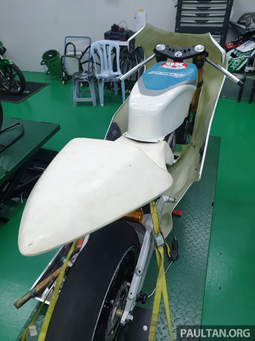 TKKR Racing's Moto 3 Y15ZR prototype takes shape Image #1232855