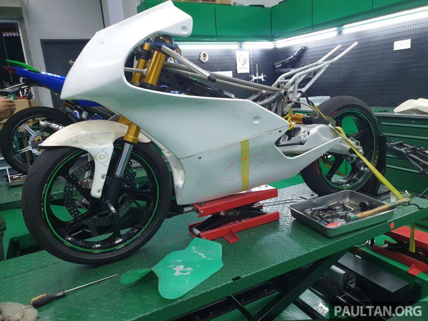 TKKR Racing's Moto 3 Y15ZR prototype takes shape Image #1232864