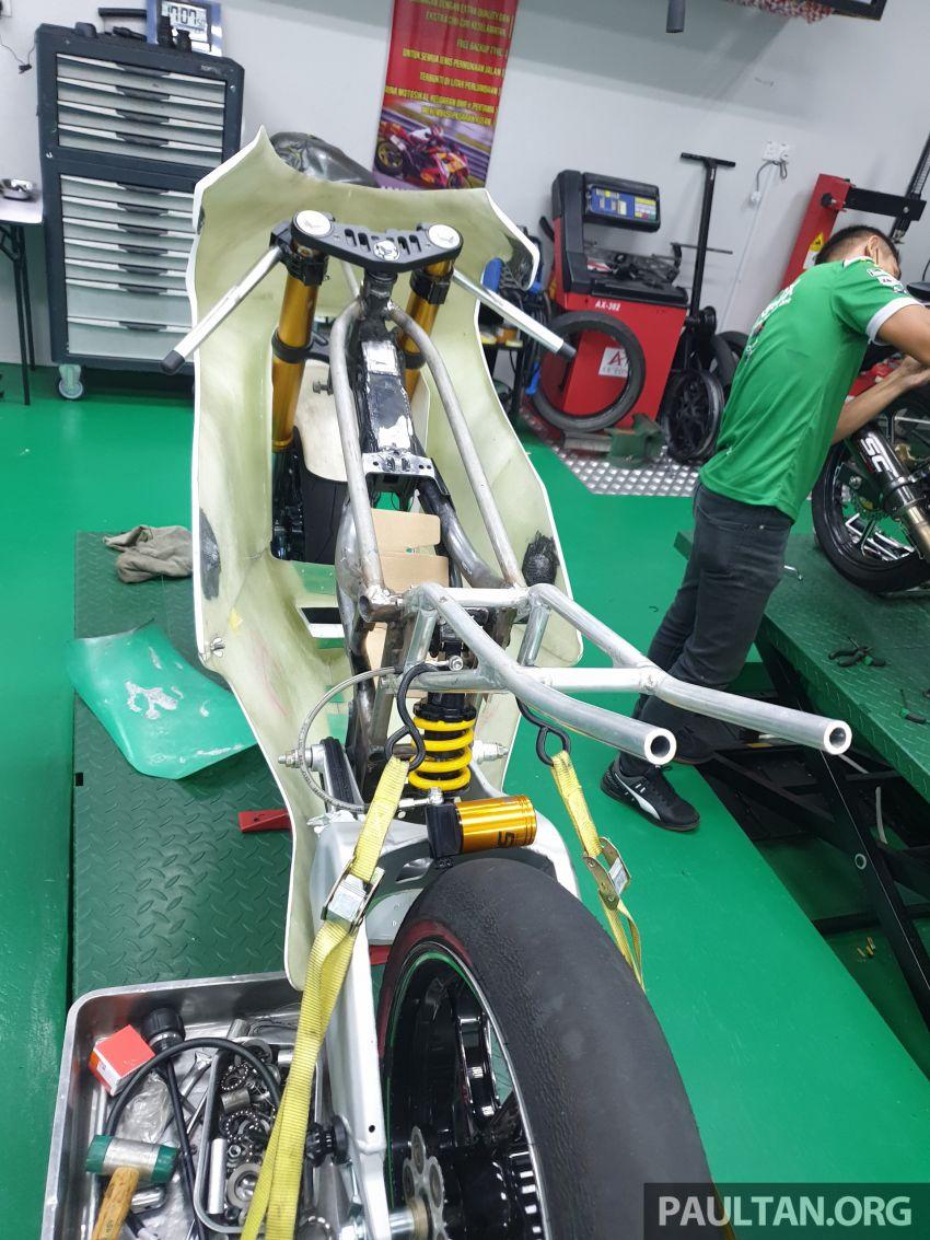 TKKR Racing's Moto 3 Y15ZR prototype takes shape Image #1232865