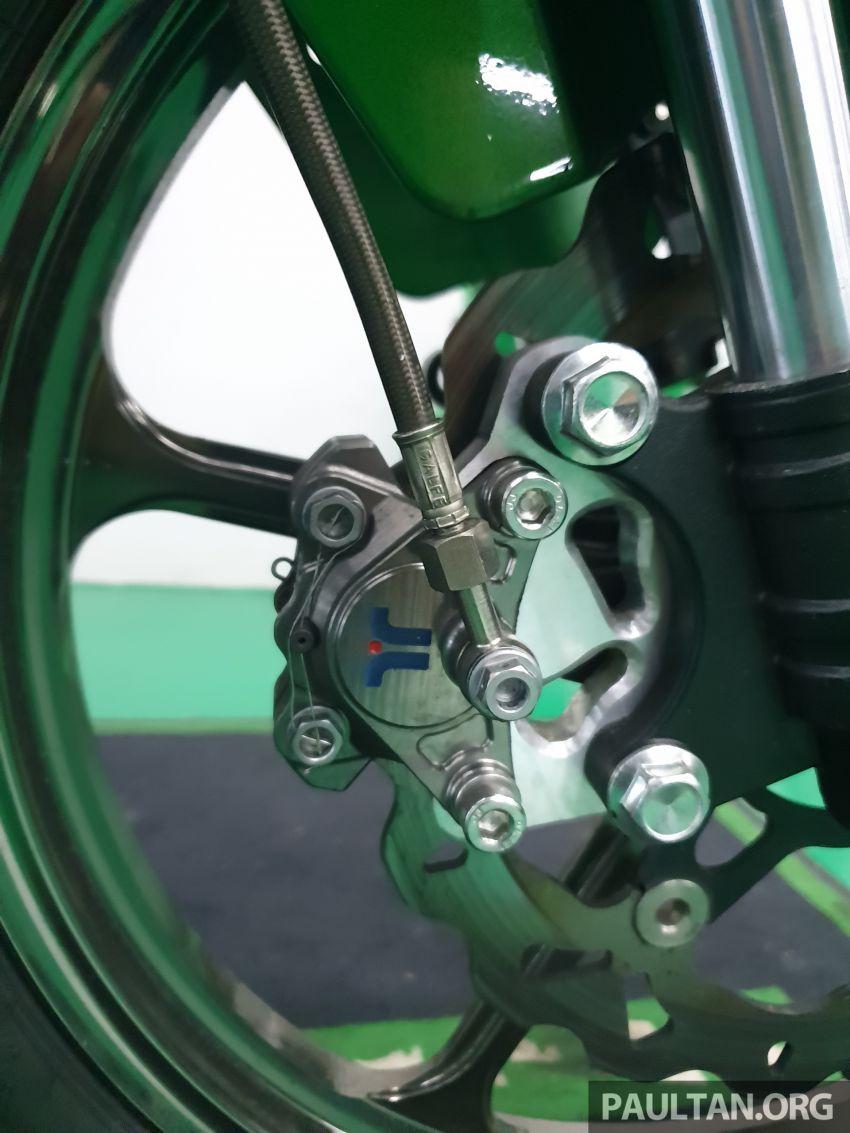 TKKR Racing's Moto 3 Y15ZR prototype takes shape Image #1232866