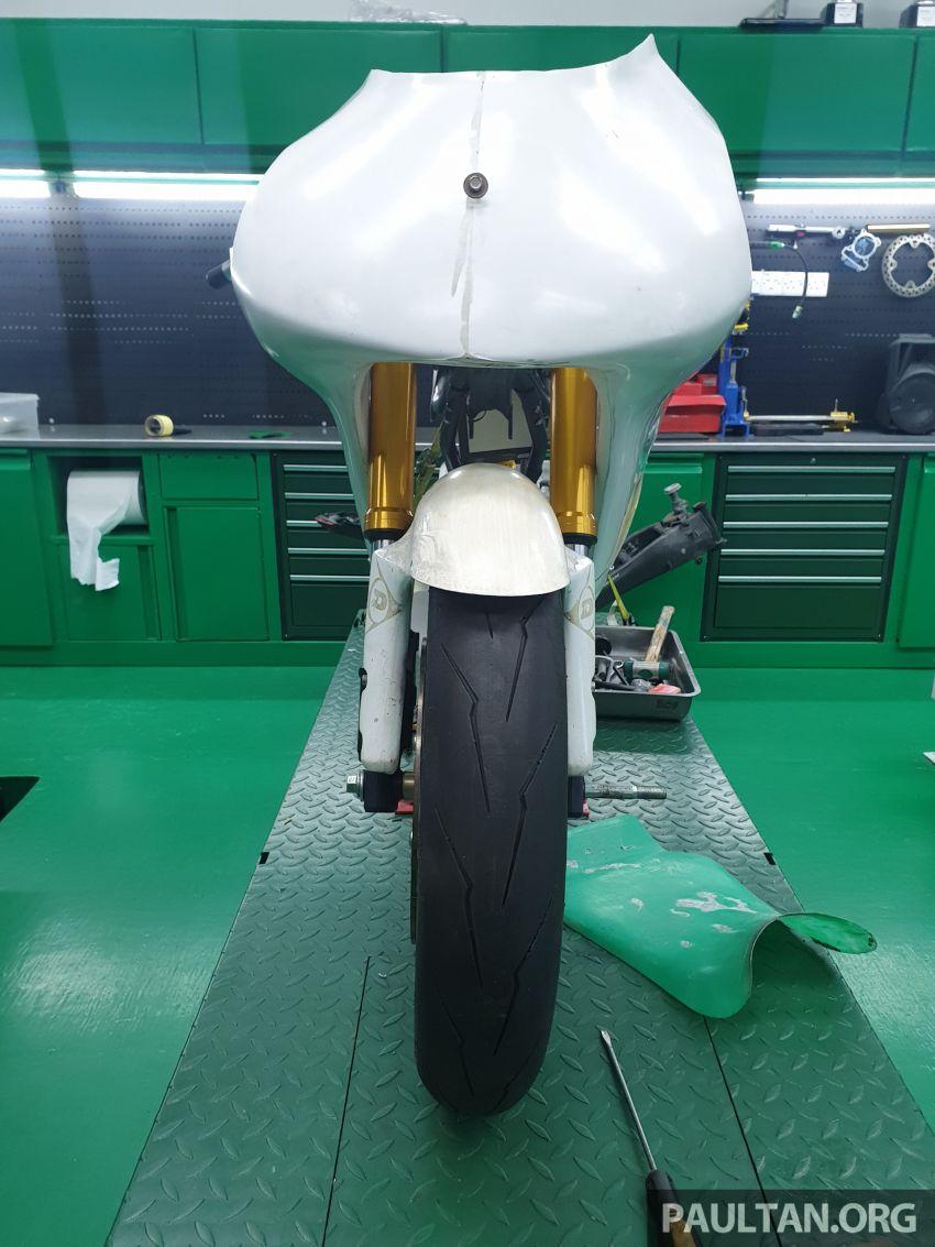 TKKR Racing's Moto 3 Y15ZR prototype takes shape Image #1232847