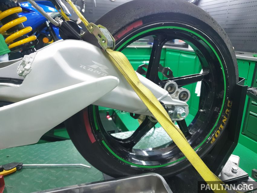 TKKR Racing's Moto 3 Y15ZR prototype takes shape Image #1232848