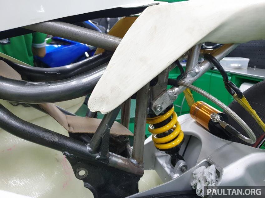 TKKR Racing's Moto 3 Y15ZR prototype takes shape Image #1232849