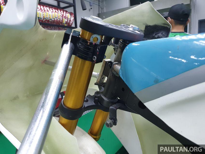 TKKR Racing's Moto 3 Y15ZR prototype takes shape Image #1232850