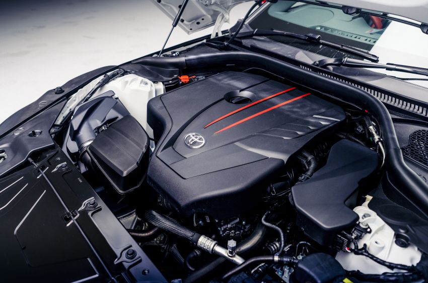 Toyota GR Supra gets 2.0L 4-cyl in UK, from RM252k Image #1232974