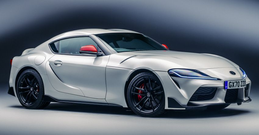 Toyota GR Supra gets 2.0L 4-cyl in UK, from RM252k Image #1232961