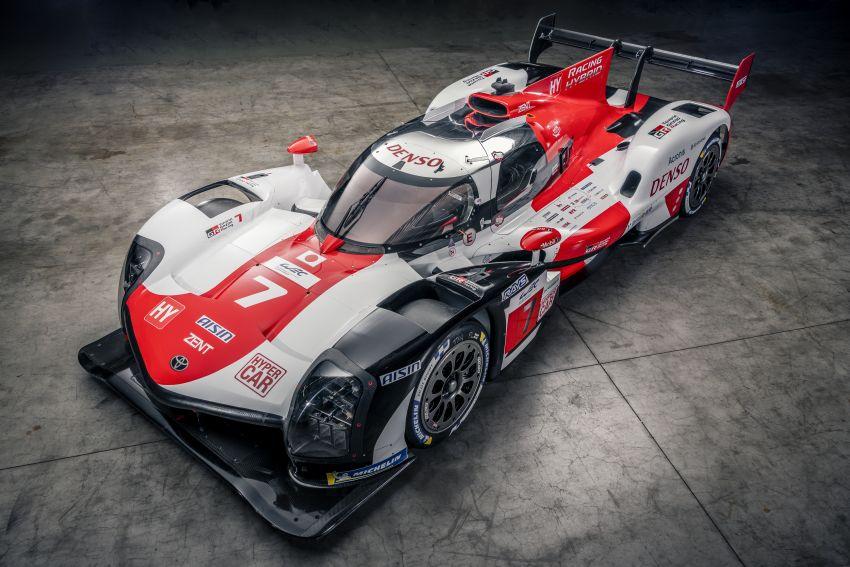 Toyota unveils GR010 Hybrid Le Mans Hypercar racer; 680 PS 3.5L biturbo V6, 272 PS front electric motor Image #1235133