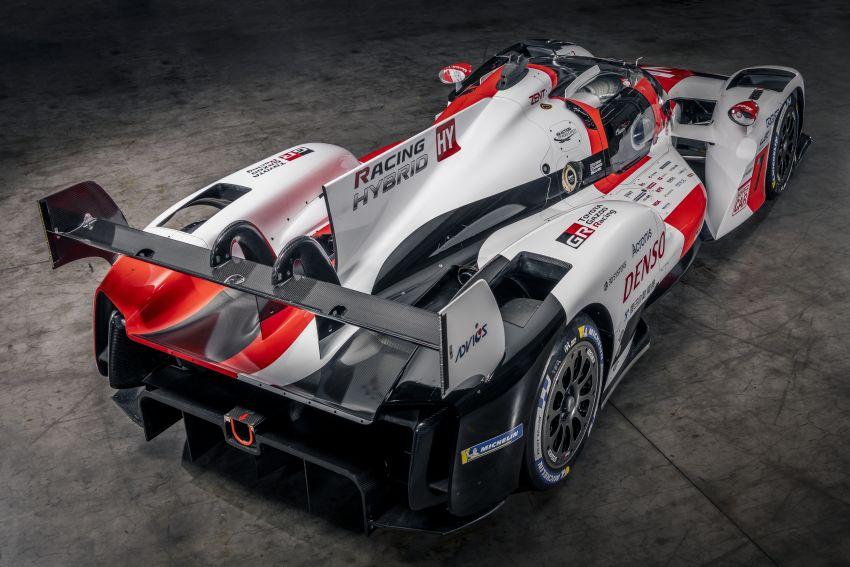 Toyota unveils GR010 Hybrid Le Mans Hypercar racer; 680 PS 3.5L biturbo V6, 272 PS front electric motor Image #1235119