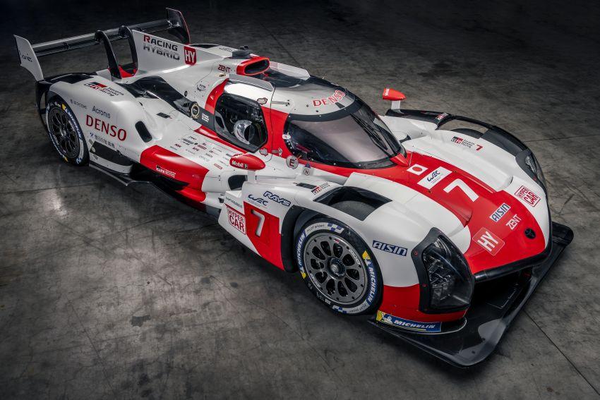 Toyota unveils GR010 Hybrid Le Mans Hypercar racer; 680 PS 3.5L biturbo V6, 272 PS front electric motor Image #1235131