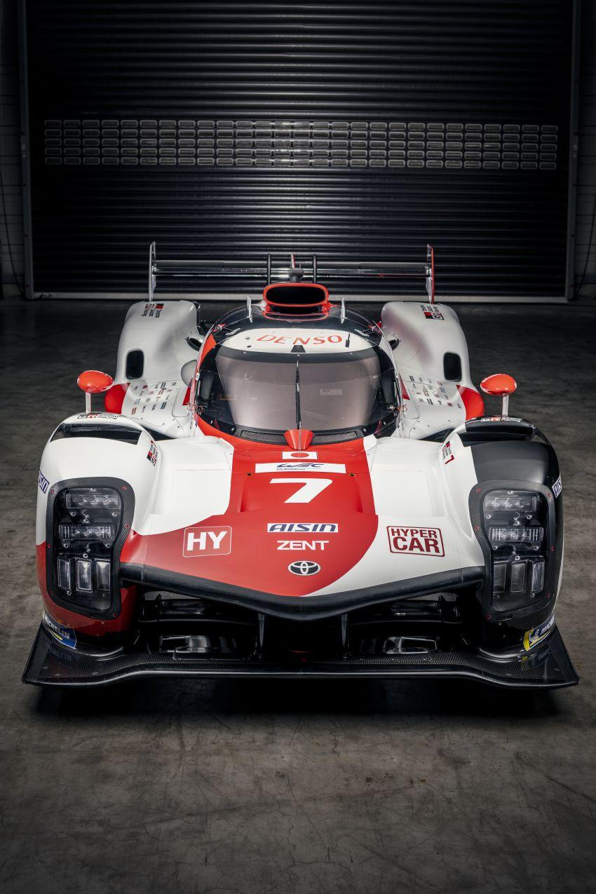 Toyota unveils GR010 Hybrid Le Mans Hypercar racer; 680 PS 3.5L biturbo V6, 272 PS front electric motor Image #1235124