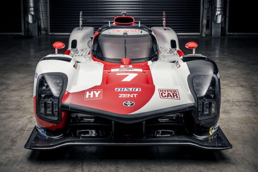 Toyota unveils GR010 Hybrid Le Mans Hypercar racer; 680 PS 3.5L biturbo V6, 272 PS front electric motor Image #1235123