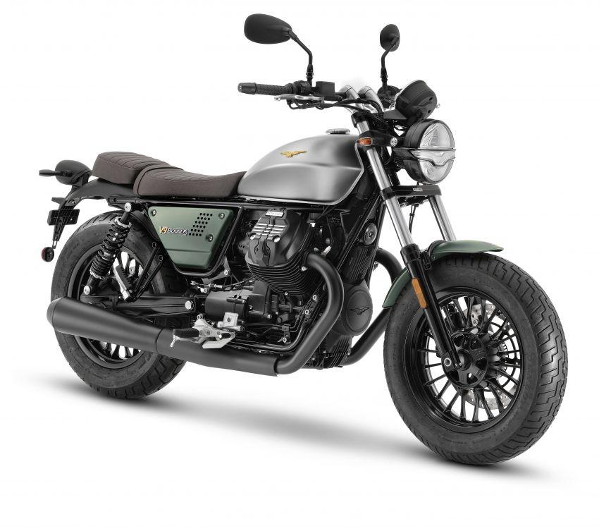 Moto Guzzi celebrates 100th anniversary in 2021  – Moto Guzzi V7, V9 and V85TT in centennial livery Image #1238321