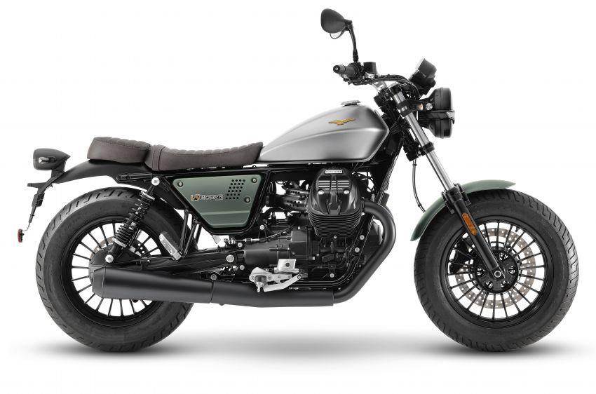 Moto Guzzi celebrates 100th anniversary in 2021  – Moto Guzzi V7, V9 and V85TT in centennial livery Image #1238324