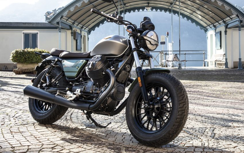 Moto Guzzi celebrates 100th anniversary in 2021  – Moto Guzzi V7, V9 and V85TT in centennial livery Image #1238343