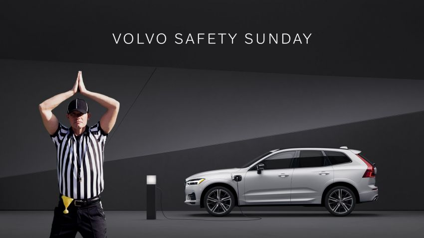 volvo safety sunday campaign in us to give away rm8.1