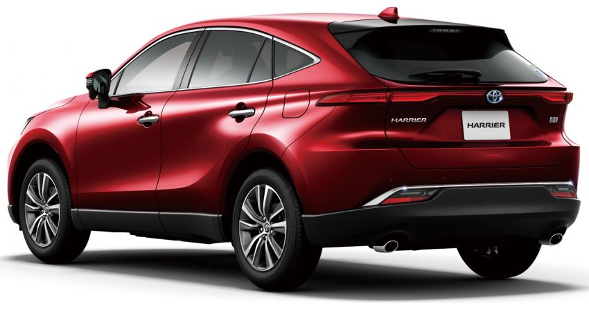 2021 Toyota Harrier launched in Singapore, fr RM489k Image #1242214