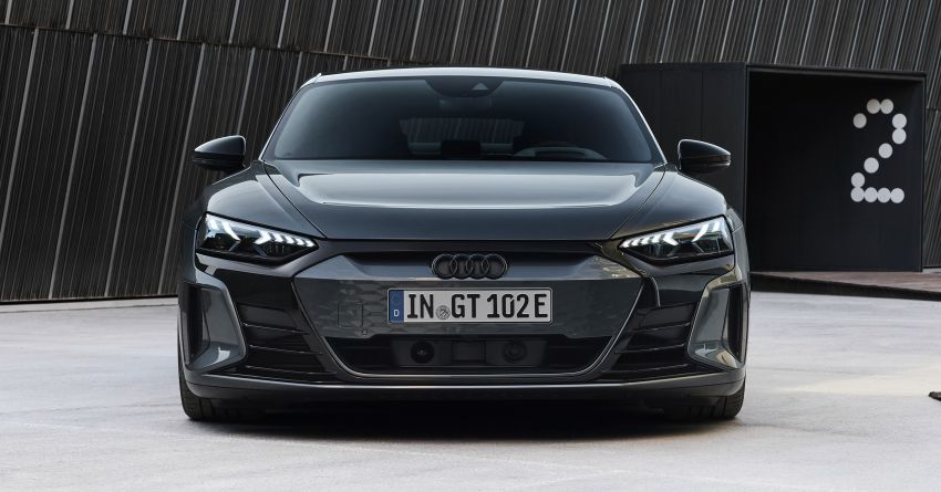 2021 Audi e-tron GT quattro, RS e-tron GT debut – two motors, up to 646 PS, 0-100 in 3.3 secs; 487 km range Image #1246442