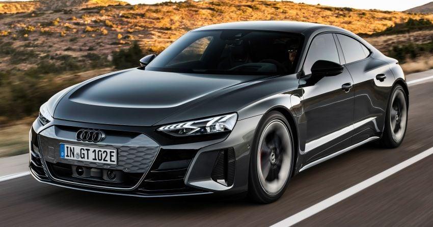 2021 Audi e-tron GT quattro, RS e-tron GT debut – two motors, up to 646 PS, 0-100 in 3.3 secs; 487 km range Image #1246434
