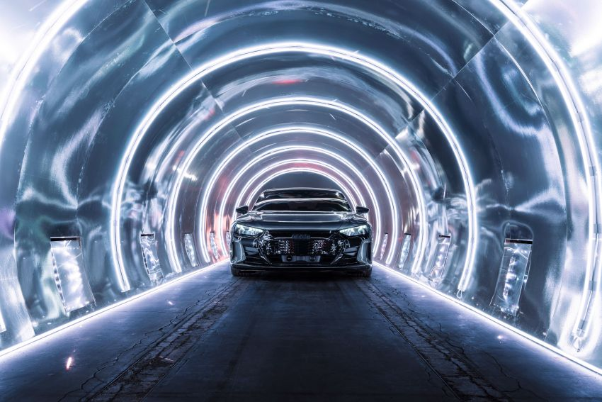 2021 Audi e-tron GT quattro, RS e-tron GT debut – two motors, up to 646 PS, 0-100 in 3.3 secs; 487 km range Image #1246480