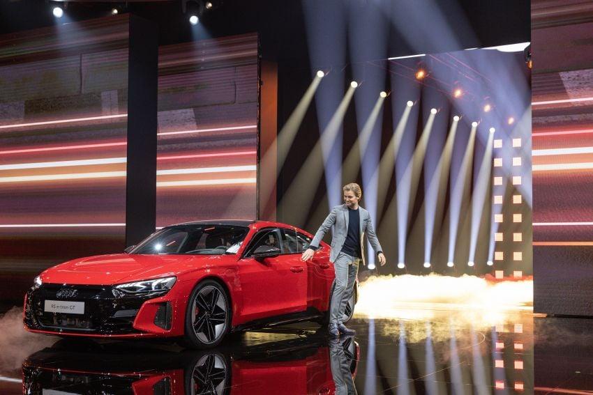 2021 Audi e-tron GT quattro, RS e-tron GT debut – two motors, up to 646 PS, 0-100 in 3.3 secs; 487 km range Image #1246457