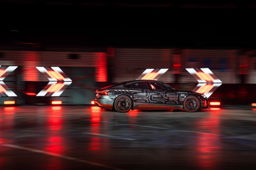 2021 Audi e-tron GT quattro, RS e-tron GT debut – two motors, up to 646 PS, 0-100 in 3.3 secs; 487 km range Image #1246462