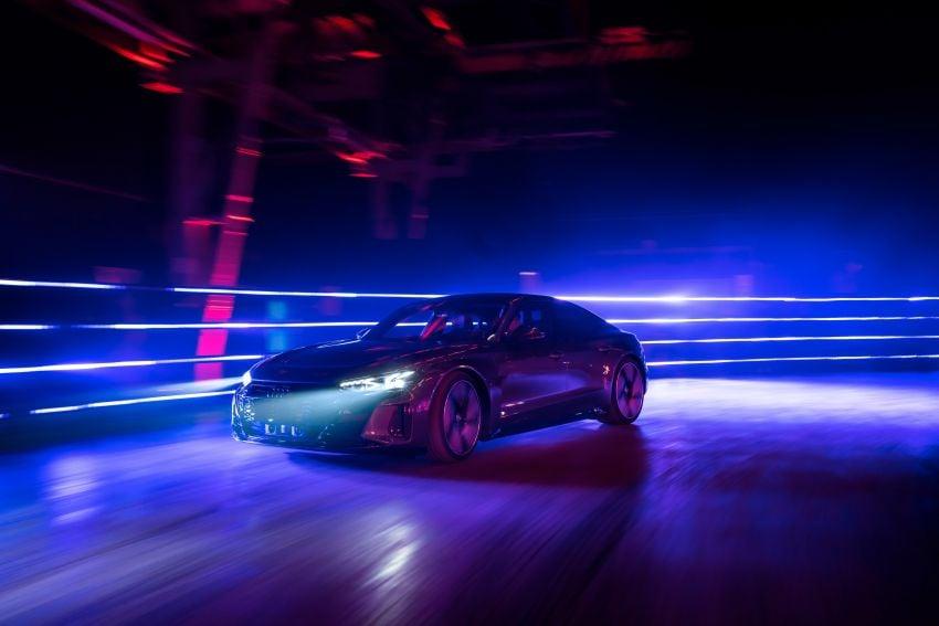2021 Audi e-tron GT quattro, RS e-tron GT debut – two motors, up to 646 PS, 0-100 in 3.3 secs; 487 km range Image #1246466