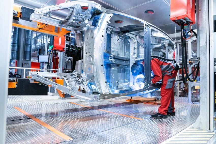 2021 Audi e-tron GT quattro, RS e-tron GT debut – two motors, up to 646 PS, 0-100 in 3.3 secs; 487 km range Image #1246700